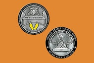 2 silver challenge coins