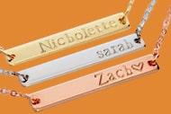 3 custom bracelets